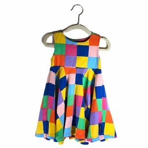 Marimekko Checkered Plaid Dress Size 18M/86
